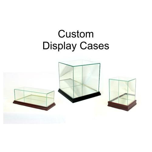 10 x 10 x 10 Custom Display Case