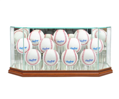 Eleven Baseball Display Case