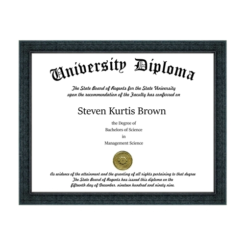 Basic Document / Diploma Frame