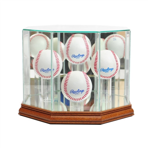 4 Baseball Display Case
