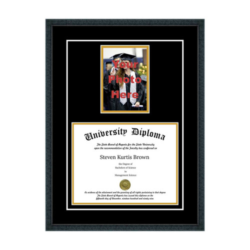 Diploma Frame with 5x7