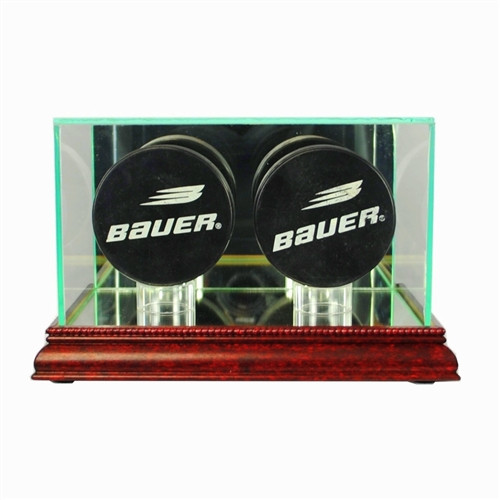 Double Puck Display Case