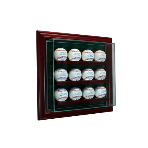12 Cabinet Baseball Display Case