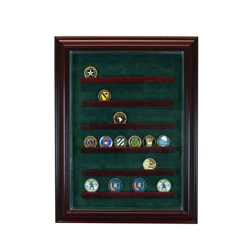 36 Coin Cabinet Display Case