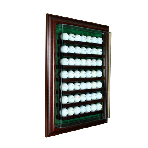 49 Golf Ball Cabinet Display Case