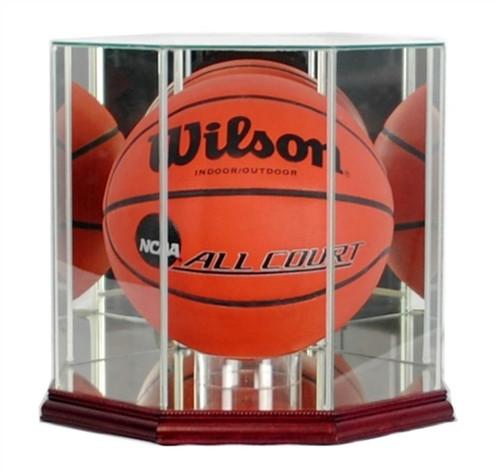 Octagon Basketball Display Case