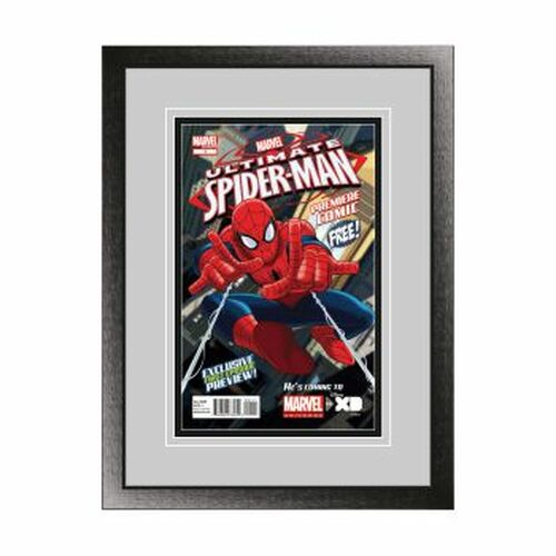 Single Comic Book Frame