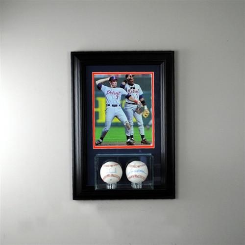 Wall Mounted Double Baseball 8 x 10