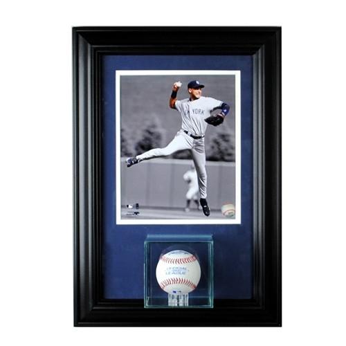 Wall Mounted Single Baseball 8 x 10