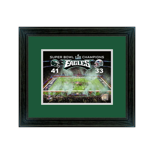 Eagles Super Bowl Champions Frame with Print  - 11x14