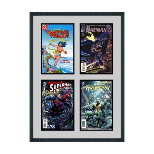 Quad Four Comic Book Frame