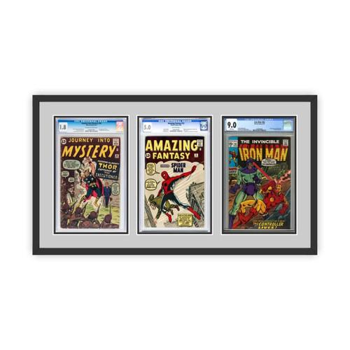 Triple Graded Comic Book Frame