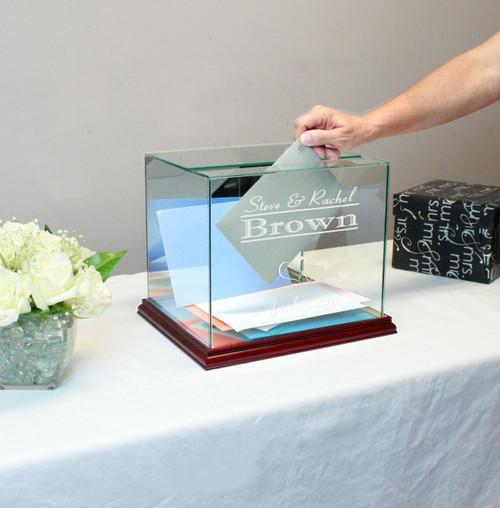 Rectangle Wedding Card Box