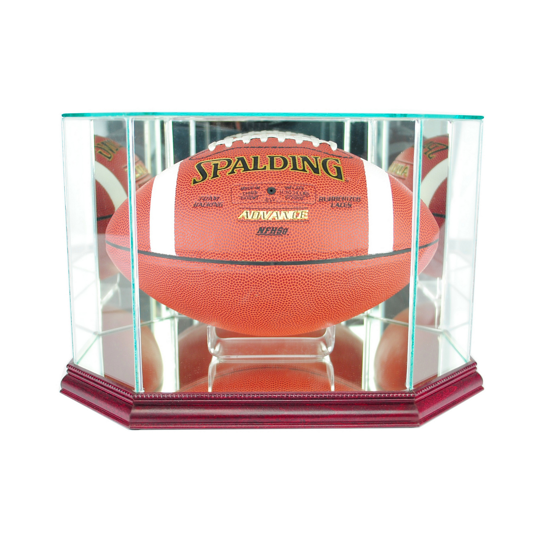 eaecf984 Football Display Cases | Perfect Cases, Inc.
