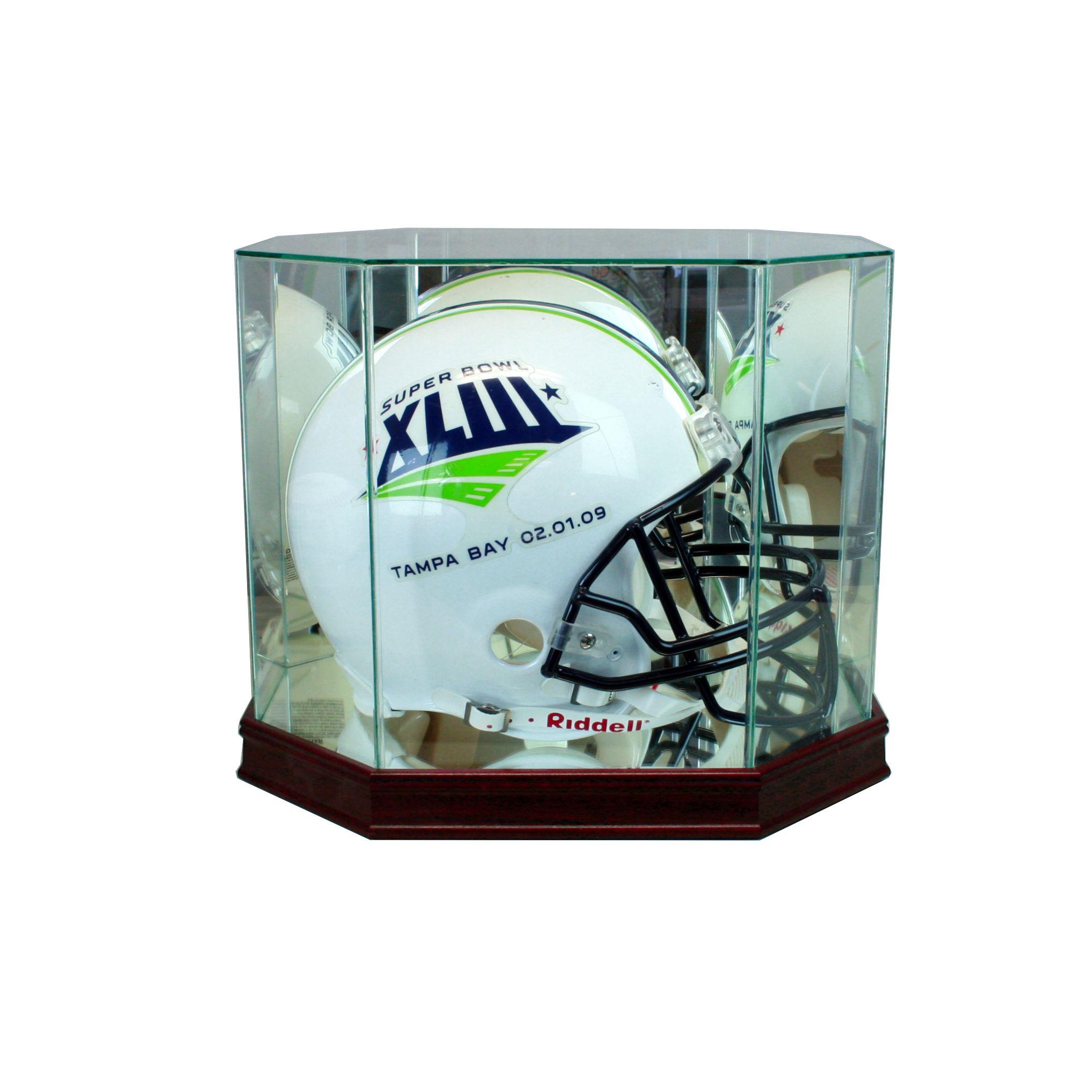 4a04e48a Football Helmet Display Cases | Perfect Cases, Inc.