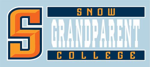 SNOW GRANDPARENT DECAL