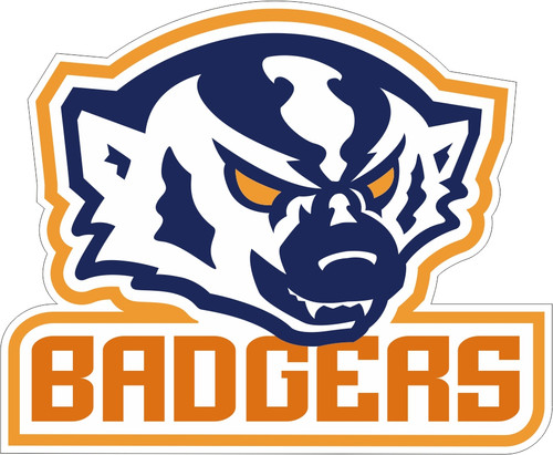 """BADGER DECAL - 18"""""""