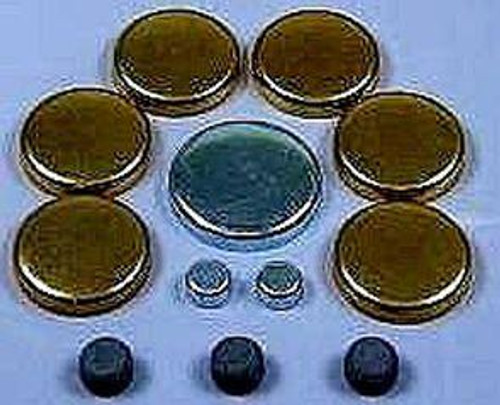 CADILLAC 472 500 FREEZE PLUG SET-STEEL OR BRASS-EP14