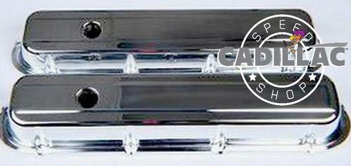 CADILLAC 472 500 HEAVY DUTY CHROME VALVE COVER KIT-BLK01-70