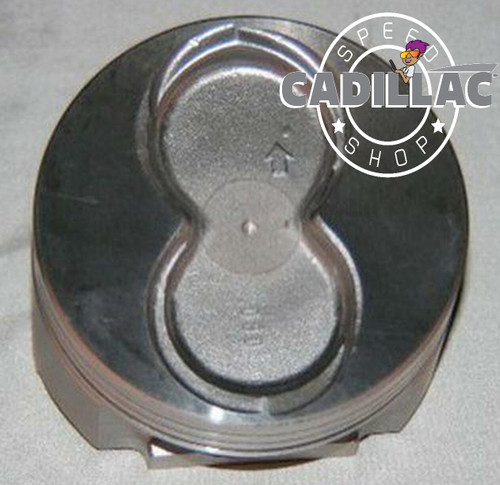 CADILLAC 472 500 USA MADE 472 CAST PISTON W/ WRIST PINS SET OF 8-EP61B