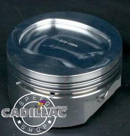 CADILLAC 472 500 FORGED PISTON 500, SET OF 8 FOR 76CC HEAD 10-1-EP65