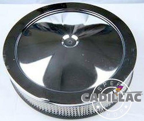 CADILAC 472 500 CHROME AIR CLEANER LID-BL52