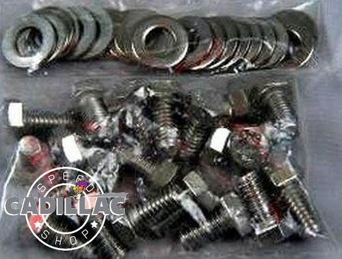 CADILLAC 472 500 HEX HEAD-STAINLESS VALVE COVER BOLT KIT-HW69