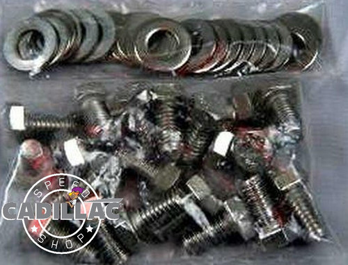 CADILLAC 472 500 HEX HEAD STAINLESS OIL PAN BOLT KIT- HW79
