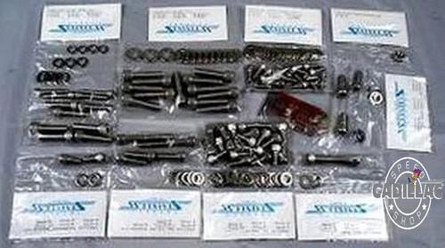 CADILLAC 472 500 ALLEN HEAD, STAINLESS, FULL ENGINE BOLT KIT-HW64