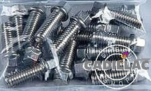 CADILLAC 472 500 SMALL HEX-STAINLESS HEADER BOLT KIT-GRADE 8-HW94