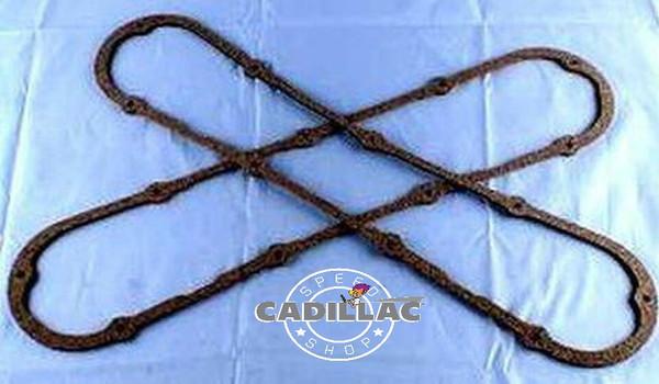 CADILLAC 472 500 VALVE COVER GASKET SET- CORK OR RUBBER-GSK18