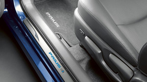 LED Illuminated Door Sill Protectors for 2010-2015 Toyota Prius