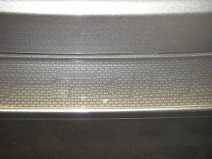Rear Bumper Applique for 2004-2009 Toyota Prius