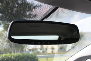 Auto-Dimming Mirror with Homelink for 2012-2015 Toyota Prius Plug-in Base