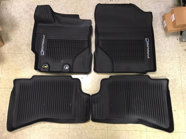 All Weather Floor Liners for 2012-2017 Toyota Prius c - OEM