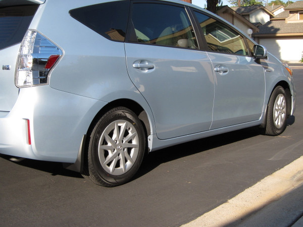 Mudguards Mud Flaps for 2012-2016 Toyota Prius v