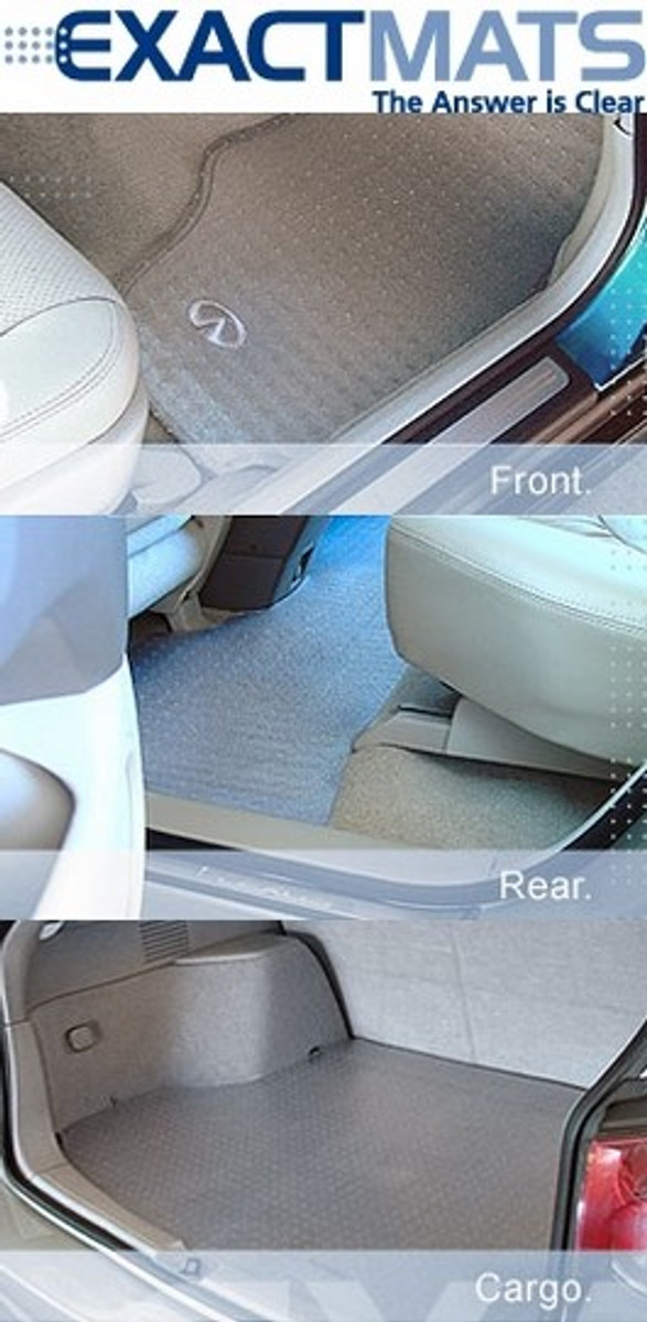 ExactMats - The Original Clear Floor Mat for 2012-2015 Toyota Prius Plug-in