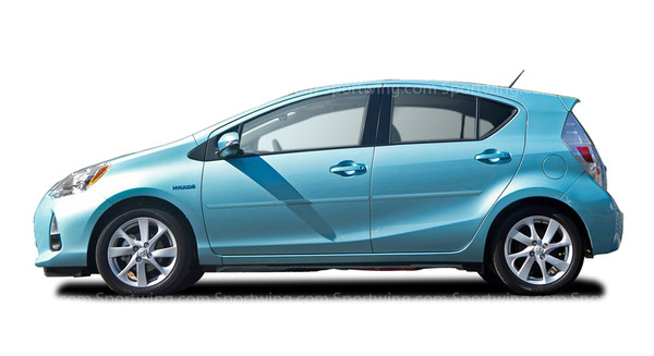 Body Side Moldings for 2012-2018 Toyota Prius c