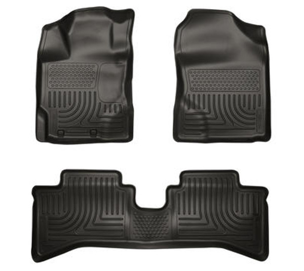 Husky Liners Weatherbeater Floor Liners for 2012-2018 Toyota Prius c