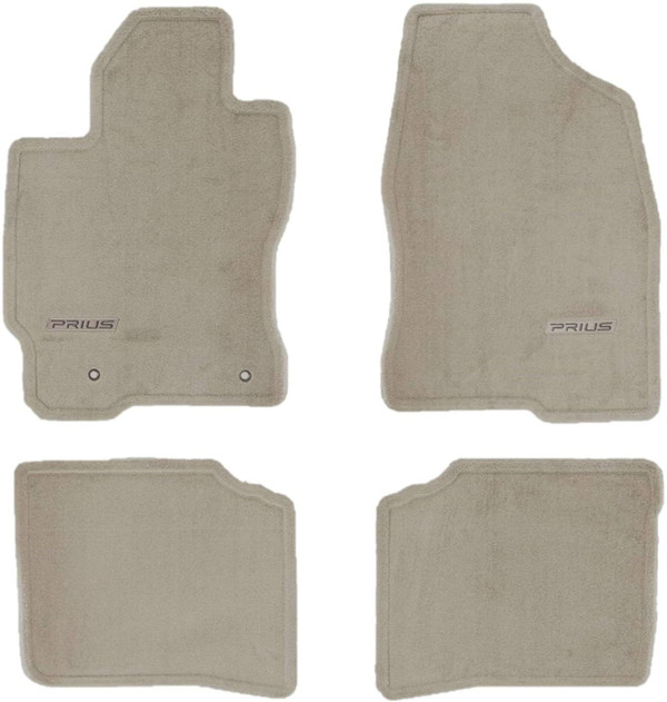 Carpeted Floor Mats for 2004-2009 Toyota Prius - OEM