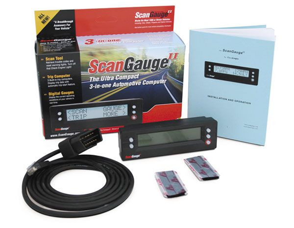 ScanGauge II ODB Scan Tool + Digital Gauges + Trip Computers
