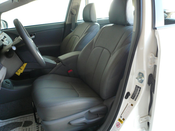 Clazzio Grey Leather for Prius - Driver's seat