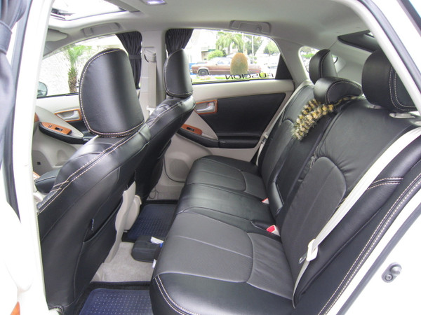 Clazzio Leather Seat Covers for 2010-2015 Toyota Prius