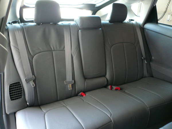 Clazzio Grey Leather for Prius - 2nd row