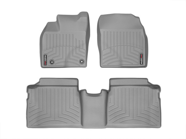 465251-462562 Grey Prius Plug-in Weathertech Mats