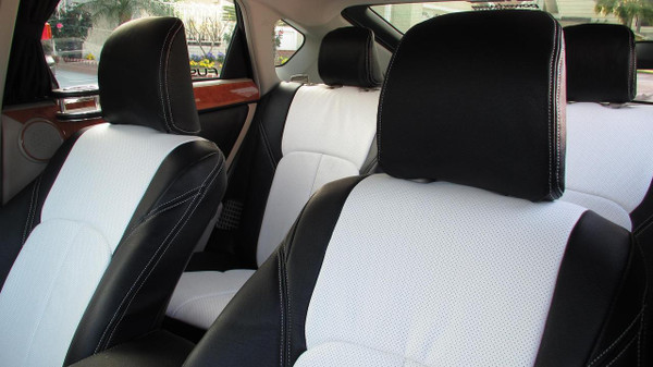 Clazzio Leather Seat Covers for 2004-2009 Toyota Prius