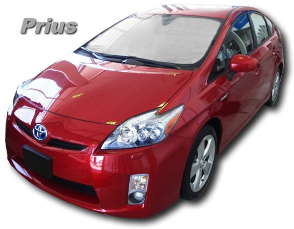Sunshade HeatShield for 2010-2015 Toyota Prius - Front Side Windows