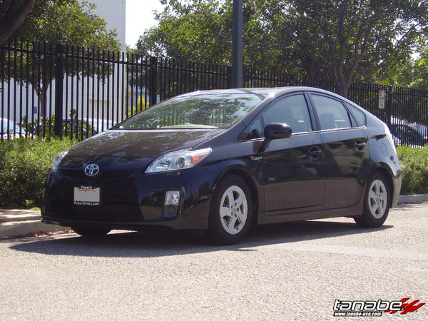 2010-2015 Prius Lowered with DF210 Tanabe Springs 3