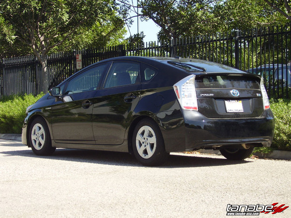 2010-2015 Prius Lowered with DF210 Tanabe Springs 2