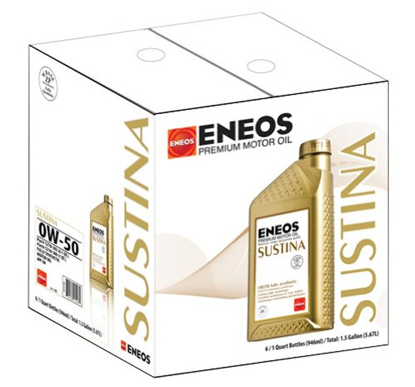 Case of Eneos Sustina for Toyota Prius
